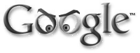 Google scowling evilly