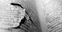 An old broken book